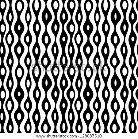 Seamless abstract monochrome pattern. EPS 8 vector illustration.