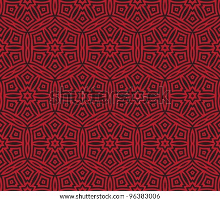 seamless abstract oriental pattern background