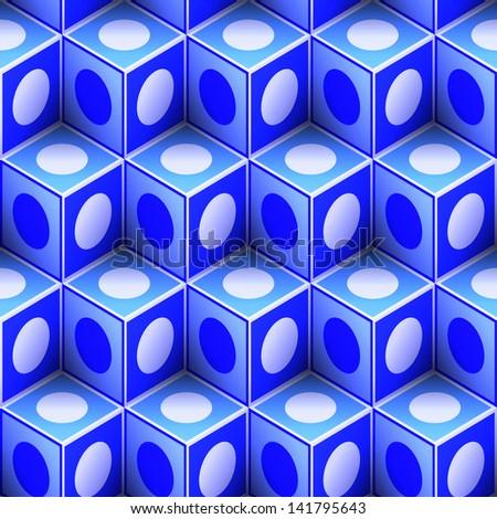 Seamless abstract pattern. Vector illustration.