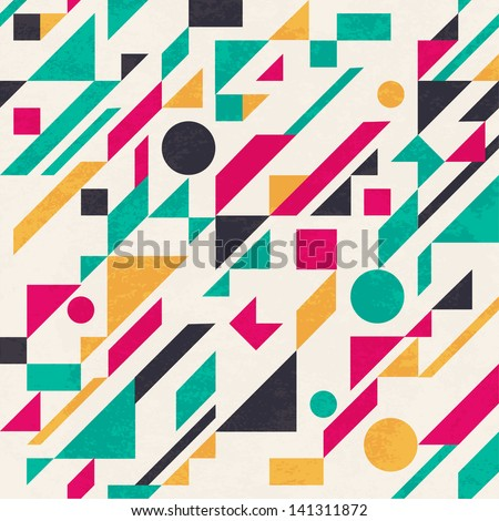 Seamless Abstract Pattern Vector Seamless Abstract Pattern With