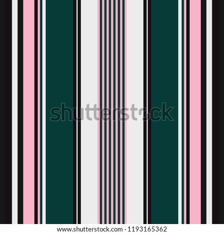 Seamless abstract pattern with vertical colorful stripes. Vector illustration