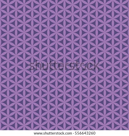 seamless abstract purple flower