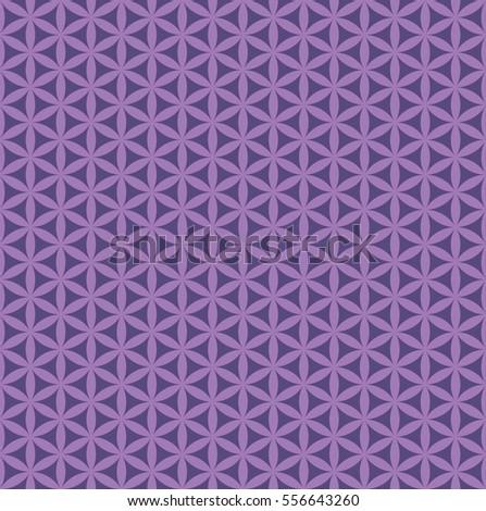 seamless abstract purple flower