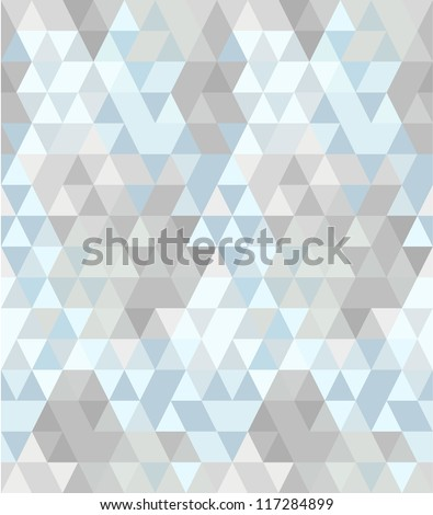Seamless abstract triangle pattern #2
