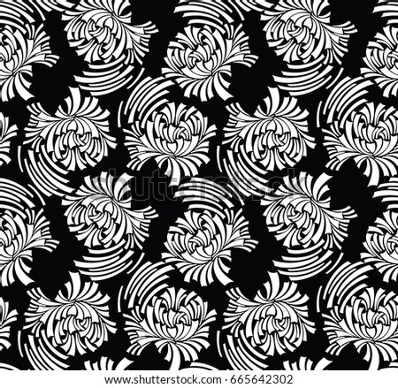 abstract floral pattern background download free vector art stock