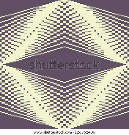 Seamless abstract vector geometric rhombus color pattern background