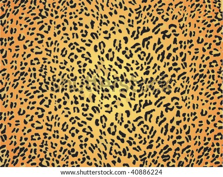 seamless animal pattern skin fur vector leopard - XXL version in jpeg available in my portfolio