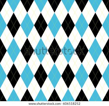 seamless argyle plaid pattern
