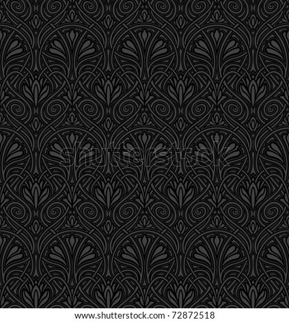 art deco patterns. Art Nouveau pattern