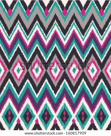 seamless aztec print vector pattern background
