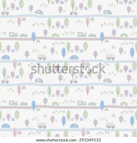 seamless baby background with