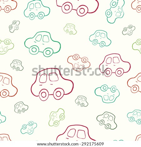 stock-vector-seamless-baby-boy-pattern-in-vector-background-boyish-wallpaper-pattern-with-hand-drawn-cars