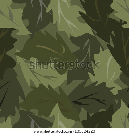 seamless background dark leaves