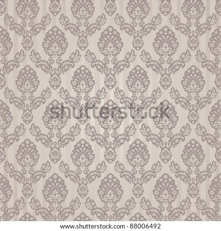 Seamless background in retro style - stock vector