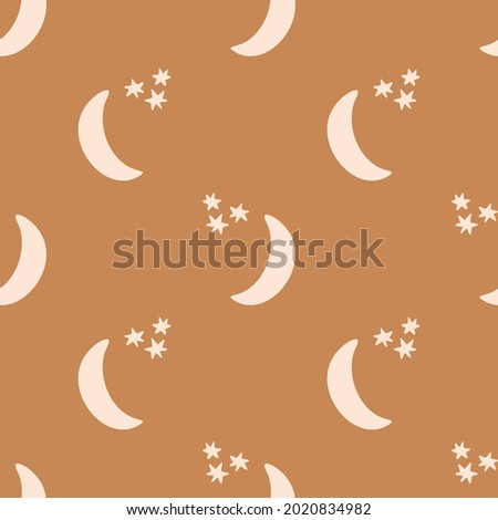 seamless background night time