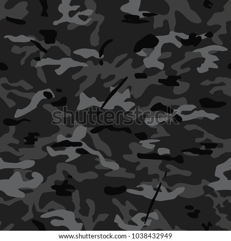seamless background of multicam
