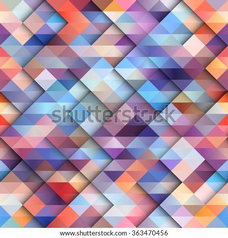 Shutterstock Seamless background pattern. Abstract diagonal geometric pattern.