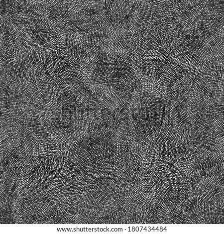 Seamless background pencil hatching. Hand drawn illustration with pencil texture. Grunge background with abstract pencil texture. Paper background for flyer, card, textile. Vector illustration.