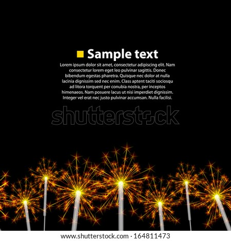 seamless background sparkler