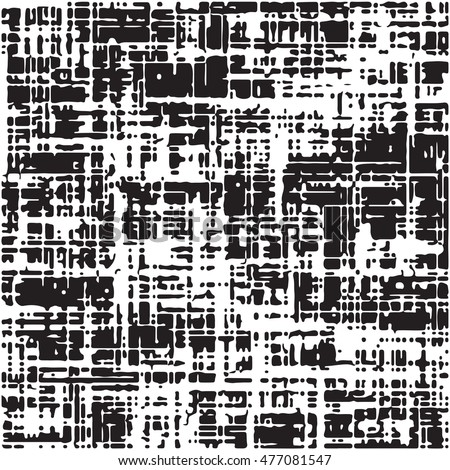 Seamless background texture, vector distressed texture. Abstract seamless background. Black and white vector illustration.