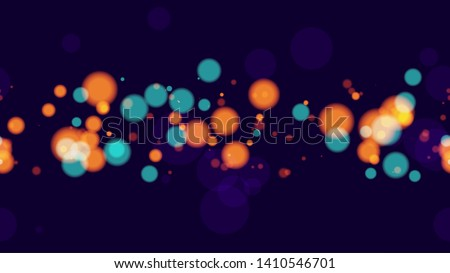 seamless background with neon