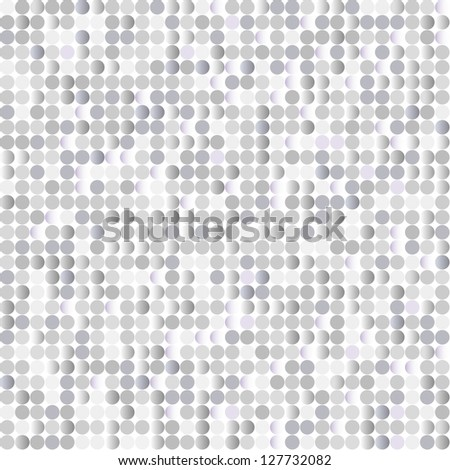 Seamless background with shiny silver paillettes
