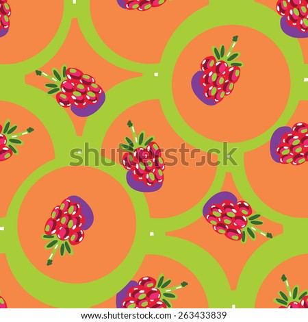 seamless backgrounds with fruits