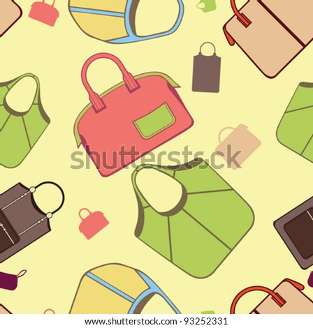 seamless bags patterns
