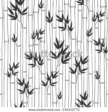 Seamless Bamboo Pattern Seamless Bamboo Pattern