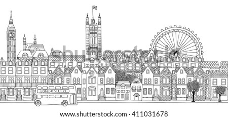 seamless banner of london's