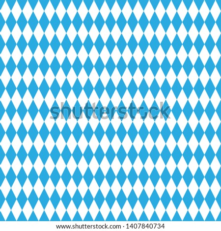 Seamless Bavarian rhombic pattern. Ideal for textiles, packaging, paper printing, simple backgrounds and textures. Photo stock ©