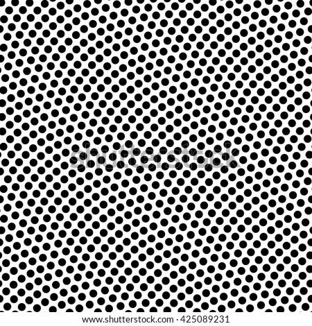 Seamless black and white basketball texture with bumps vector illustration