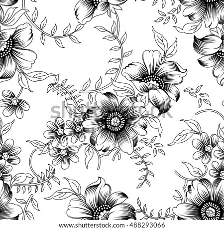 White Floral Pattern Download Free Vector Art Stock Graphics Images