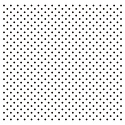 seamless black and white polka dots pattern very editable color