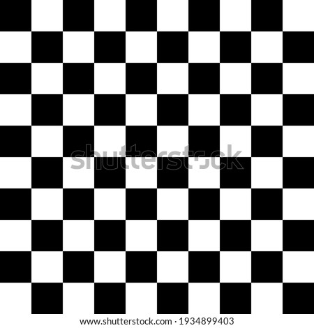 Seamless black and white square grid pattern for background  Stock photo ©