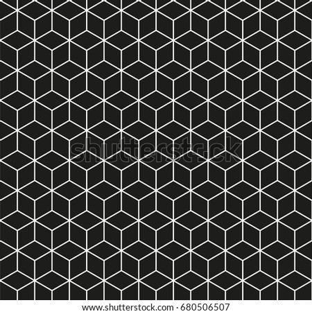 Outlined Geometric Pattern Download Free Vector Art Stock