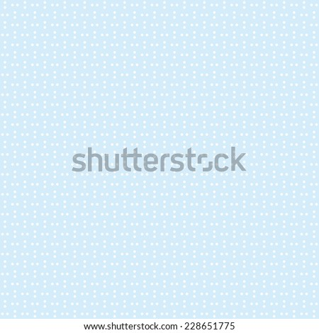 Seamless blue series of dots pattern vector