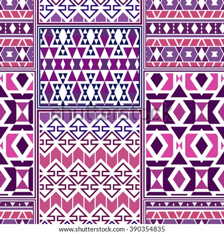 seamless boho style pattern