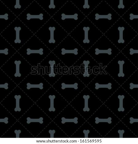 seamless bone pattern