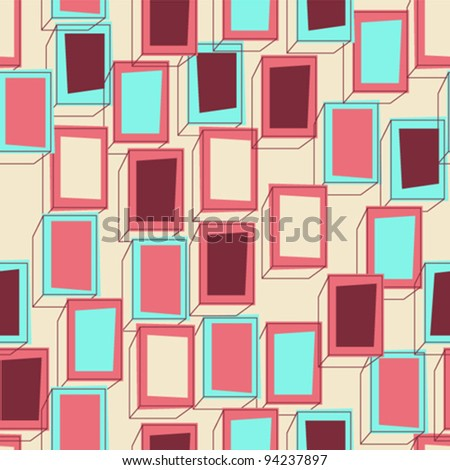 Seamless box pattern