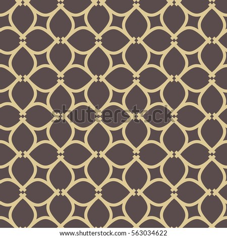 stock-vector-seamless-brown-and-golden-background-for-your-designs-modern-vector-ornament-geometric-abstract