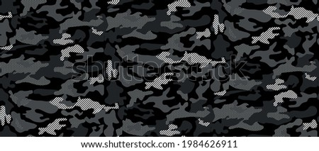 seamless camouflage abstract