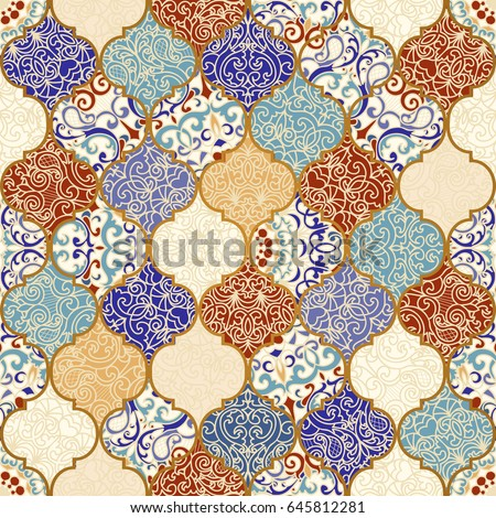 seamless ceramic tile with