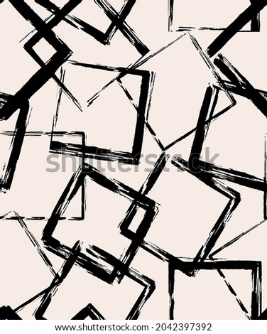 seamless chalk squares vector