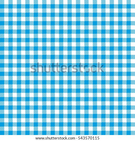 seamless checkered seamless pattern blue and white tablecloth