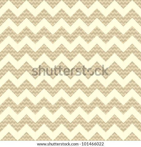 Seamless chevron pattern on linen background.  eps 10