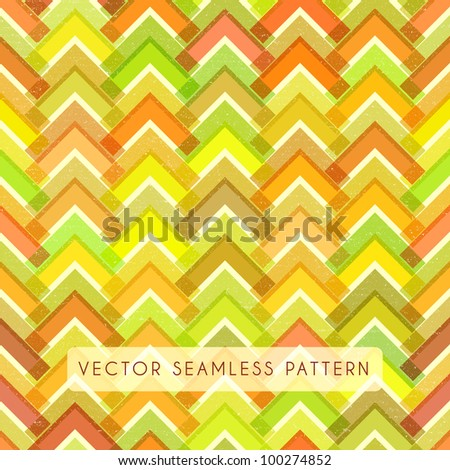 Seamless chevron pattern. Paper texture zigzag beautiful background
