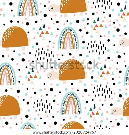 seamless children's pattern