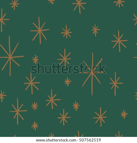 Seamless Chrismas pattern