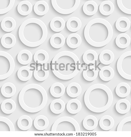 stock vector seamless circles background 183219005 - Каталог — Фотообои «3D Текстуры»